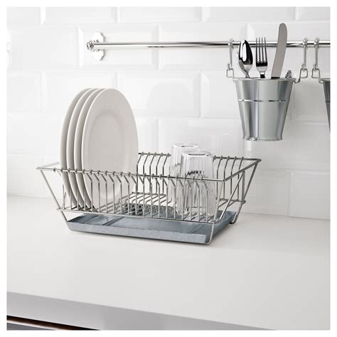 Product Of The Week Dish Rack Sink by Ikea Fintorp Dish Drainer Nickel Plated In 2019