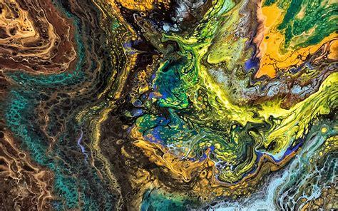 Download wallpapers Liquid Textures Multi colored Liquid