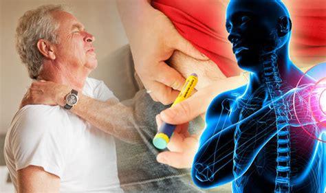 type  diabetes  frozen shoulder link pain