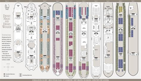 disney deck plan 5 disney cruise deck of playingds pictures inspirational