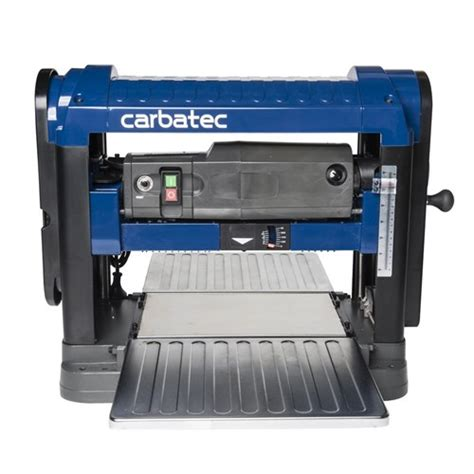 carbatec  spiral head benchtop thicknesser carbatec