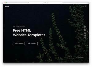 79 Free Html Website Templates 2019