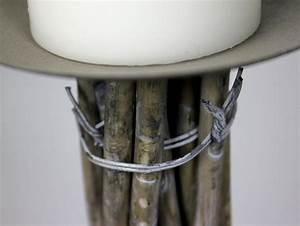 Kerzenständer Hoch Metall : kerzenst nder 40 cm metall weide kerzenhalter hoch dekost nder kerze holz ~ Indierocktalk.com Haus und Dekorationen
