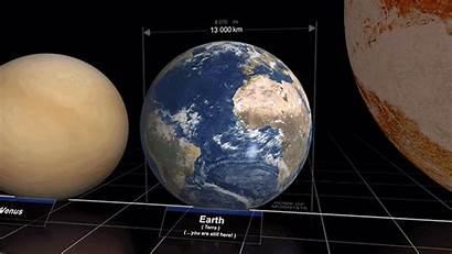 Earth Planets Universe Stars Different Comparison Compared