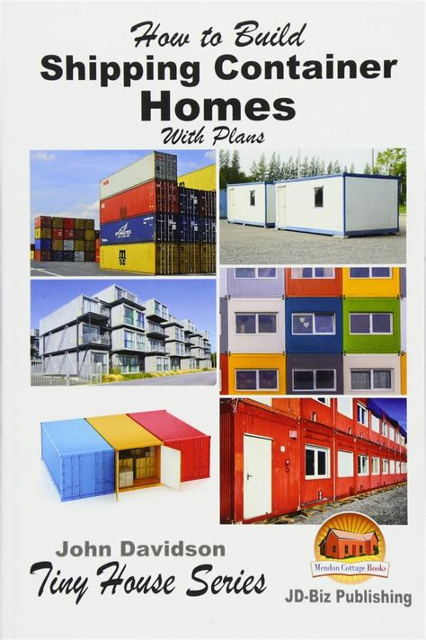 shipping container home construction design book