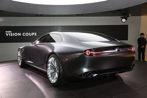 the mazda vision coupe concept is one gorgeous sedan motor trend canada