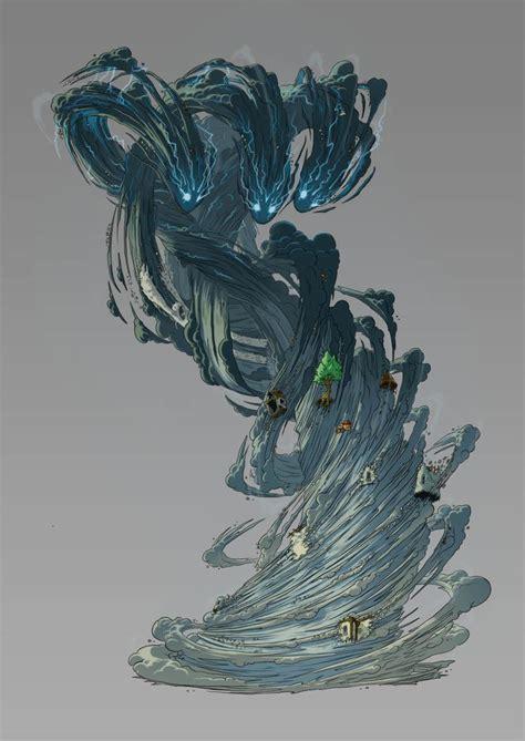 artstation eredan itcg wind elemental emmanuel bouley
