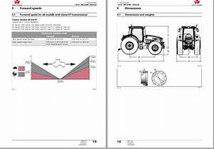 Massey Ferguson Tractor Mf 8700 Series Workshop Service