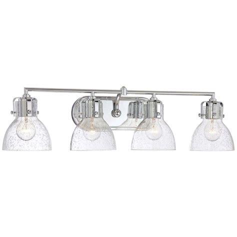 minka lavery  light chrome bath vanity light