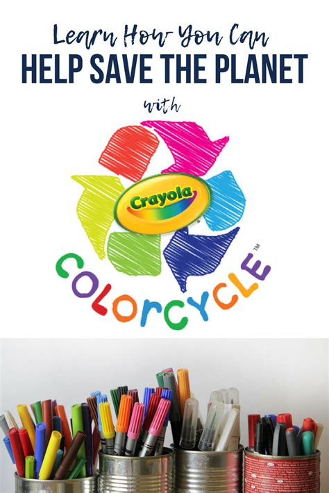 color cycle recycle markers using crayola colorcycle free and