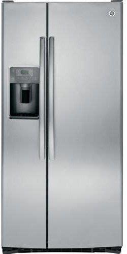 ge  cu ft stainless steel side  side refrigerator gsshshss hudson appliance