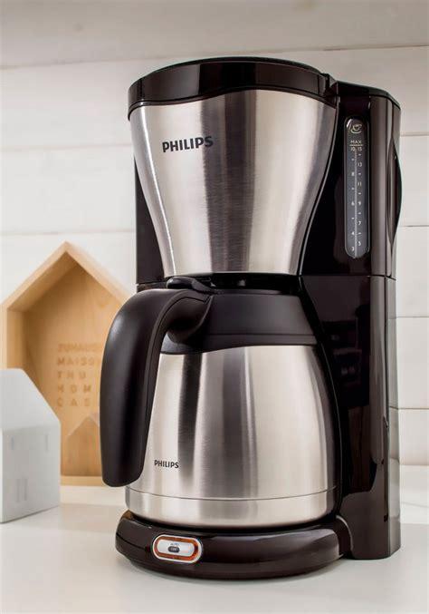 kaffeemaschine philips philips kaffeemaschine hd7546 20 thermo kaufen otto