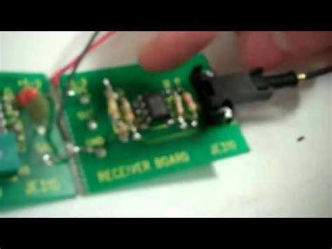 Fiber Optic Transmitter Receiver Youtube