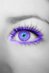 Purple and Blue Eyes