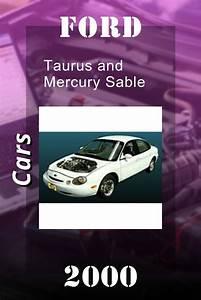2000 Ford Taurus And Mercury Sable Repair Manual