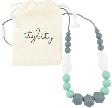 Amazoncom Silicone Teething Necklace 12 Color Choices