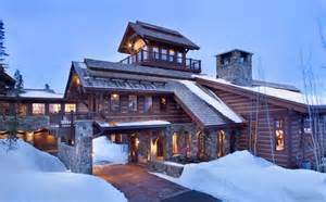 chalet home mountain chalet with elevator and ski room modern house designs