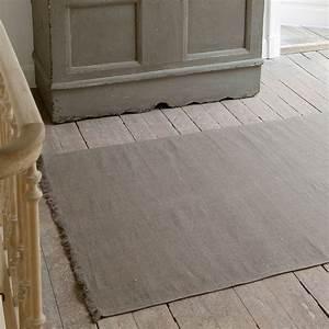 tapis en lin quotcambridgequot clepsydre With tapis en lin