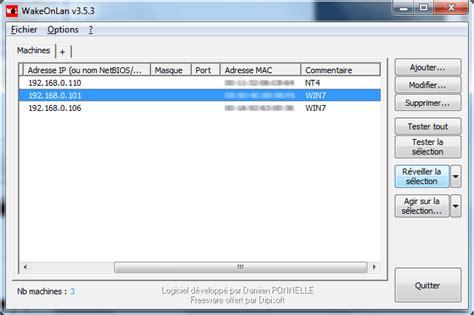r 233 seau bureau 224 distance on lan logiciels