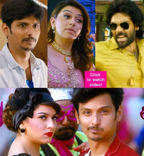 actor jeeva comedy pokkiri raja trailer jiiva and hansika motwani s gangster
