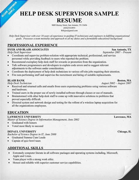 help desk resume exles helpdesk analyst resume images frompo 1