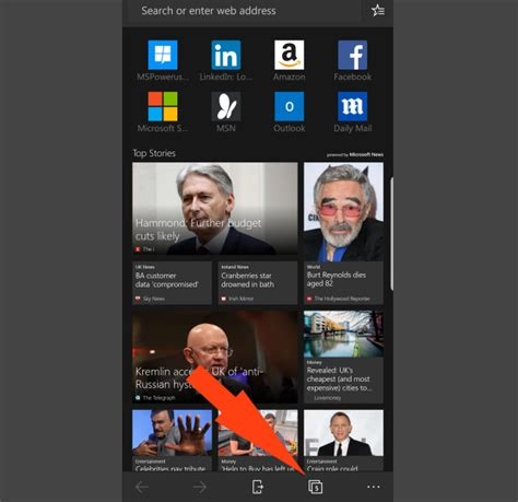 today s microsoft edge for android update will now give