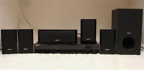 sony dav dz175 5 1 channel dvd home theater system ebay