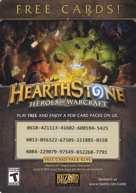 Free Hearthstone Cards! Pcmasterrace