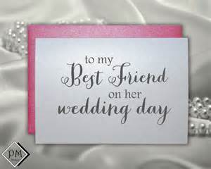 wedding gift for best friend wedding card to best friend bridal shower cards by picmatcards