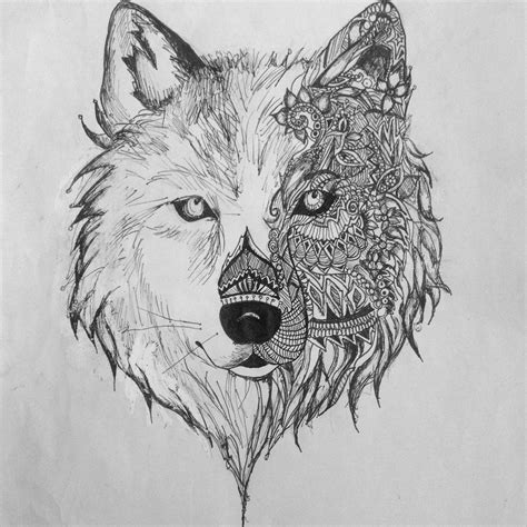 Wolf Drawing Best Cool Funny