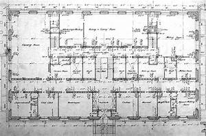 First Floor Plan Drawing Of The Denver Mint