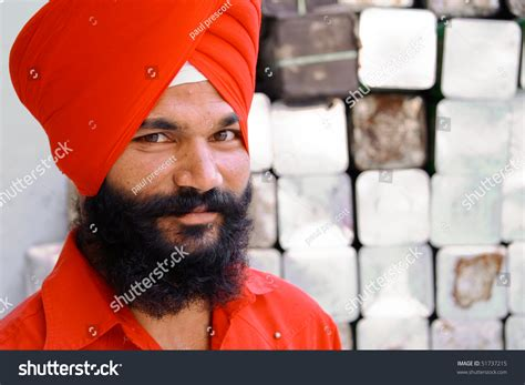 September 22: Young Fashionable Sikh With Red