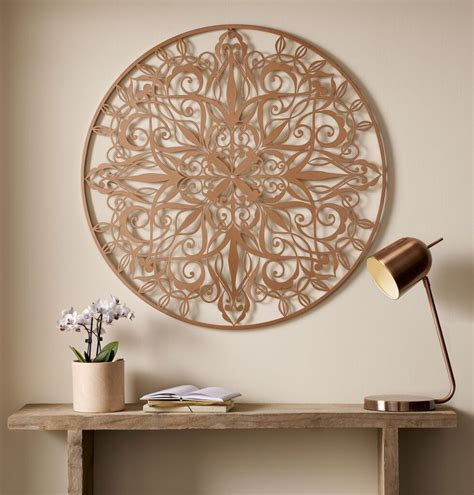 Personalize an area with gorgeous. Copper Luxe Metal Art | Wall Art