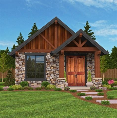 Trinidad Small House Plan Modern Lodge House Plans with