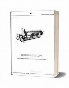 John Deere 918  U0026 920 Draper Platforms Parts Catalog
