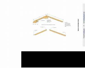Roof And Truss Question - Saltbox Shed