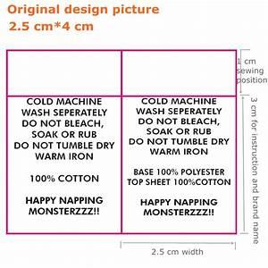 1000pcs Custom Your Instructions Satin Ribbon Cloth