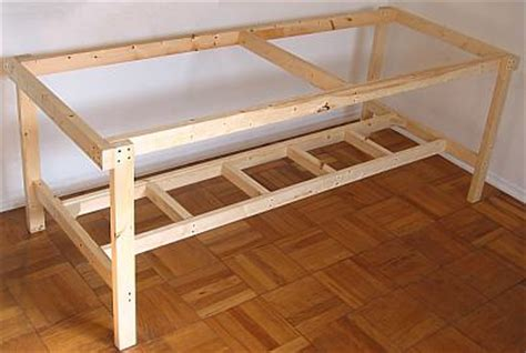 how to make a work table how to make a large worktable