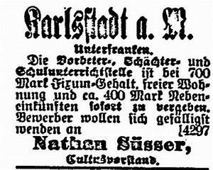 Wohnung In Karlstadt : die synagoge in karlstadt main spessart kreis ~ Watch28wear.com Haus und Dekorationen
