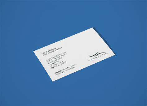elegant white business card mockup psd set good mockups