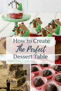 100 Days of Homemade Holiday Inspiration: Dessert Table