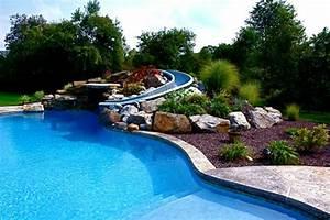 Pool Für Den Garten : 1001 ideen und erstaunliche bilder von pool im garten ~ Watch28wear.com Haus und Dekorationen