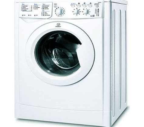 Indesit Iwdc6125 White Washer Dryer  Review, Compare