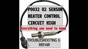P0032 O2 Sensor Heater Circuit High