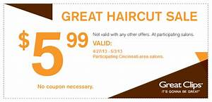 Great Clips 599 Haircut Sale