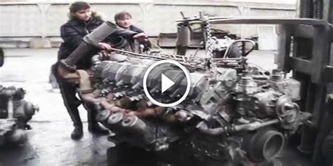 feel  power awesome  monster diesel engine  awake