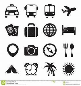 Travel Icons stock photo. Image of photo, transport ...