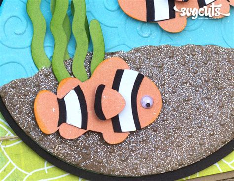 clown fish birthday card  corri garza svgcutscom blog