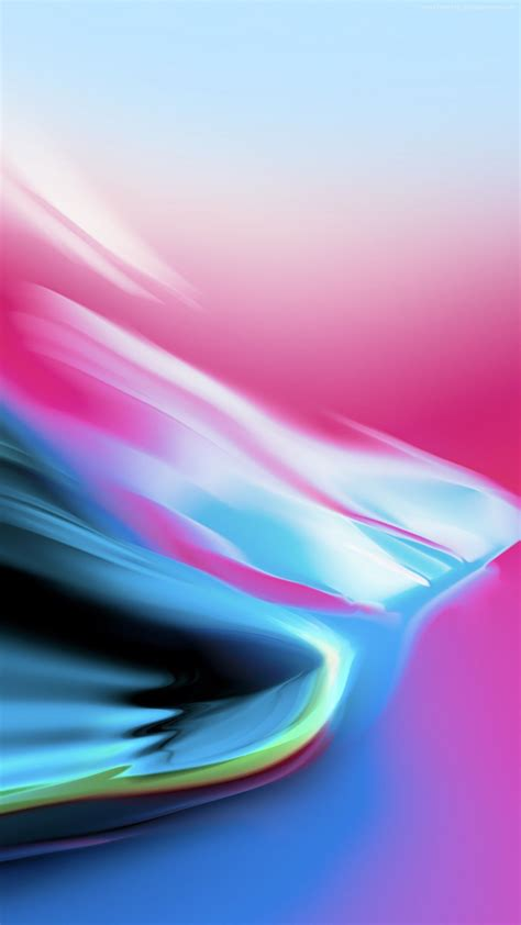 Apple Backgrounds Iphone 11 by Ios 11 Pink Blue Stock Abstract Apple Wallpaper