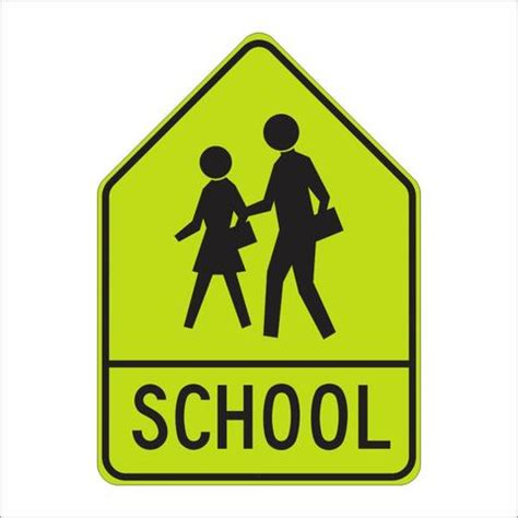 sw24 1 school sign assembly quot a quot sign main street signs athaco inc